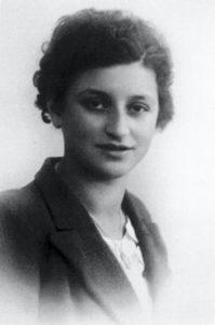 Elisa Gérard, Jugendfoto, vor 1940 © Privatbesitz / Jugendgeschichtswerkstatt Spandau