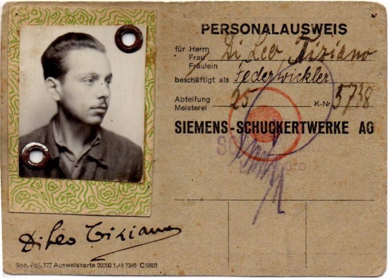 """""""Personalausweis"""" der Siemens-Schuckertwerke, Berlin, o. D. © Privatbesitz"""