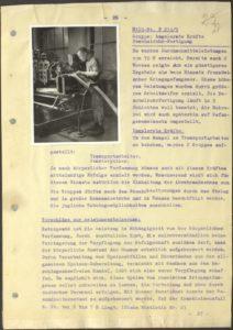 Vierteljahresbericht über Arbeitseinsatz russischer Kriegsgefangener, Berlin, 29. August 1942 © Deutsch-russisches Projekt zur Digitalisierung deutscher Dokumente in Archiven der Russischen Föderation - 500. Findbuch 12453. Akte 131