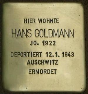 """Hans Goldmann, Nach der Schule in den """"Geschlossenen Arbeitseinsatz"""""""
