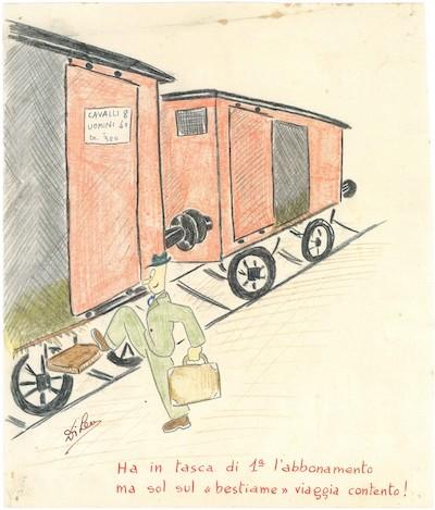 Zeichnung Di Leo, Berlin, 1943-1945 © Privatbesitz