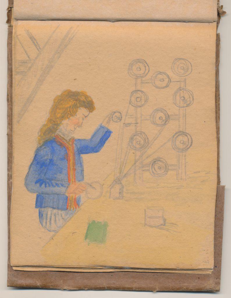 Spule, 1944/1945 (c) © Archiv der Mahn- und Gedenkstätte Ravensbrück